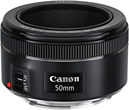 Canon EF 50mm f/1.8 STM Lens (Renewed)