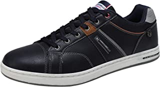 Mens Casual Shoes Walking Shoes Fashion Sneakers Leather...