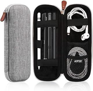 AGPTEK Apple pennfodral, Apple iPod Pro pennfodral fodral, bärväska i PU-läder (inbyggd ficka och hållare), bärbar fodral ...