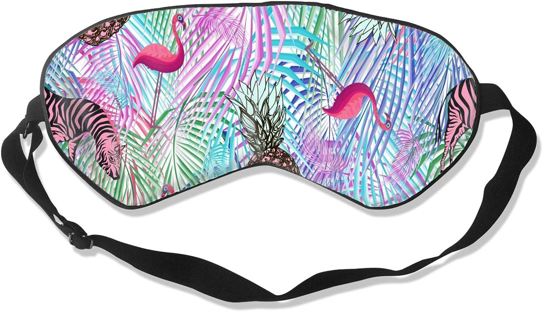 ! Super beauty product restock quality top! Eye Mask 35% OFF Colorful Palm Leaf Pineapple Zebra Flamingo Sleeping Ma