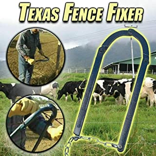 TIFALEX Fence Repair Tool Texas Fence Fixer Repair Tool for Garden Fence,Chain Fence Strainer,Fence Fixer Tool Fence Energ...
