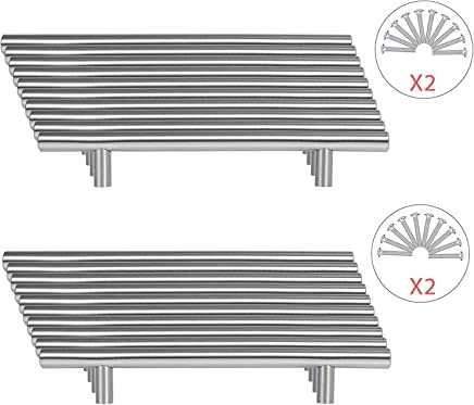96mm,3,78 pulgadas CAMAL 5pcs Aleaci/ón de Zinc de Europa del Vidrio Cristalino del Gabinete Caj/ón Pomos y Tiradores Tiradores