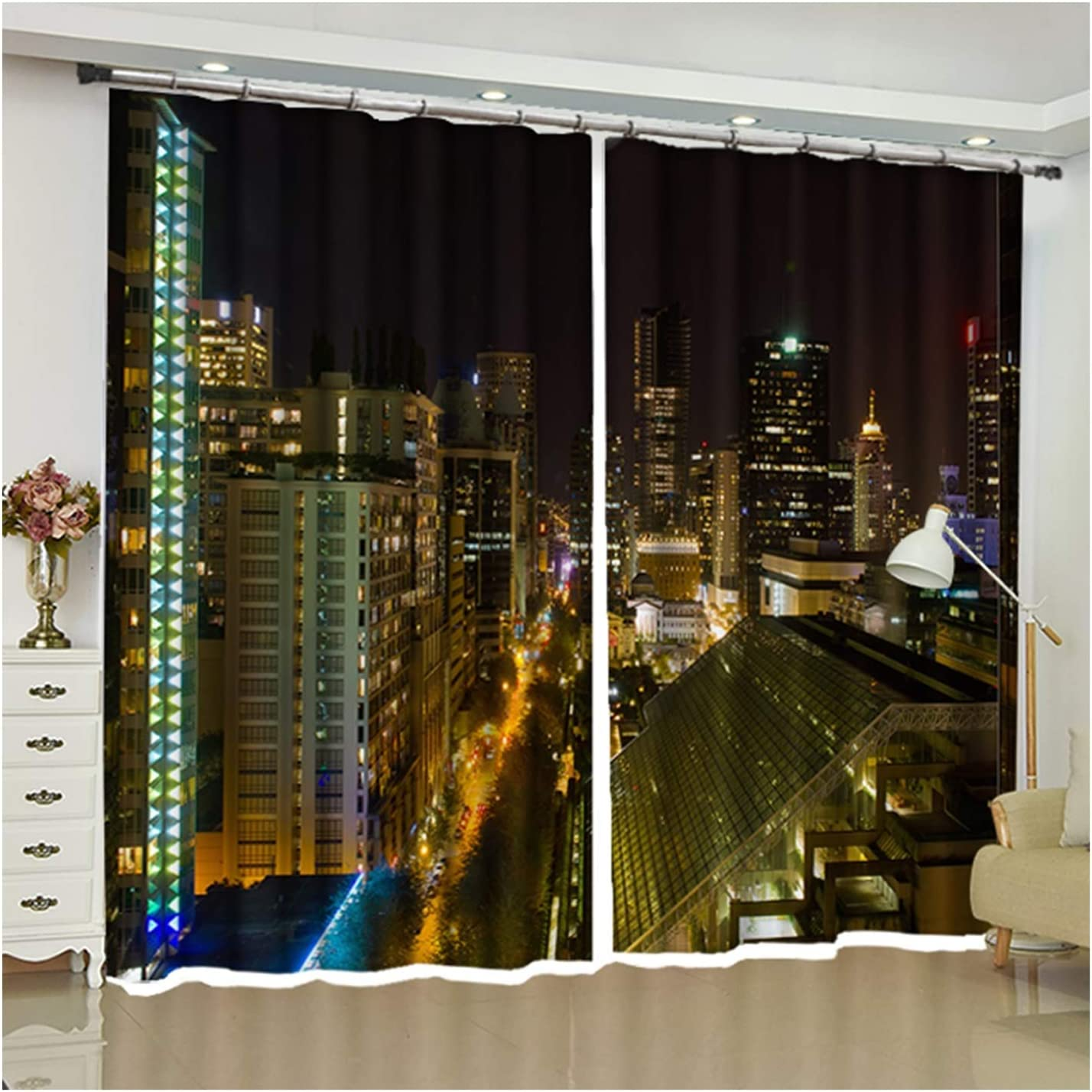 Daesar Same day shipping Bedroom Curtains Blackout Drapes Curtain Room Living Manufacturer direct delivery for
