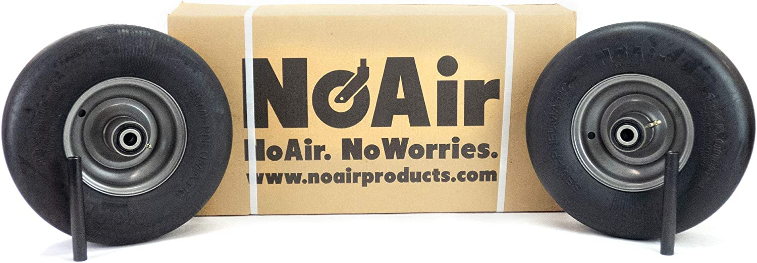 NoAir 2 Gravely Ariens Direct sale of manufacturer Flat Da At the price Assemblies 13x5.00-6 Wheel Free