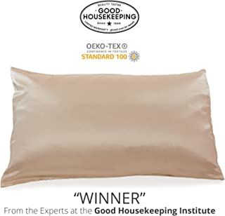 Fishers Finery 25mm Luxury 100% Pure Mulberry Silk Pillowcase Good Housekeeping Winner