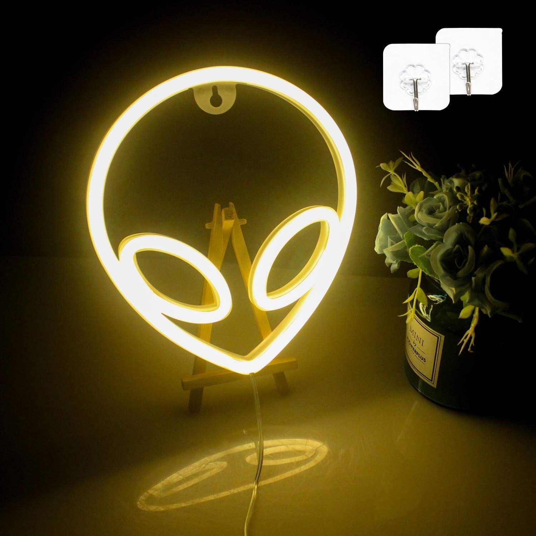 camera dei bambini Segni al neon con luci al neon a LED idea regalo decorazione da parete ristorante giallo hotel ufficio per camera da letto Wanxing