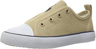 Polo Ralph Lauren Kids Kids' Ryland Khaki Canvas Withkhaki PP Slip-On