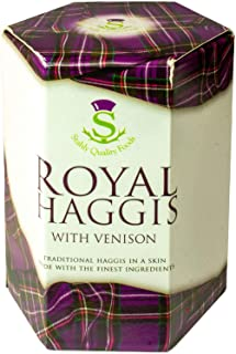 Escocés Tradicional Royal Haggis con Venado Lata - Regalo de Escocia