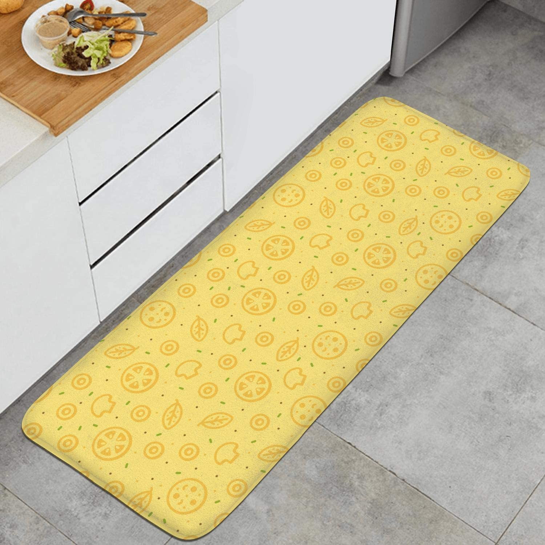 Amazon.com Summer Lemon Kitchen Mat Absorbent Carpets Non Slip ...