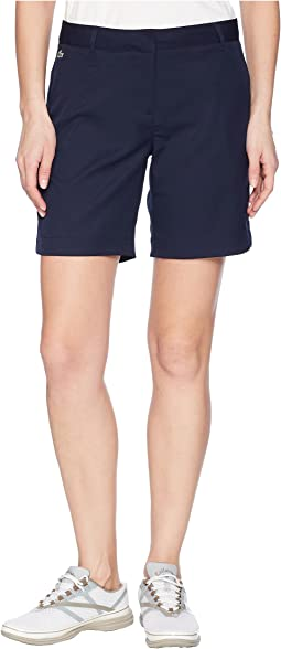 Lacoste - Golf Performance Technical Gabardine Bermudas