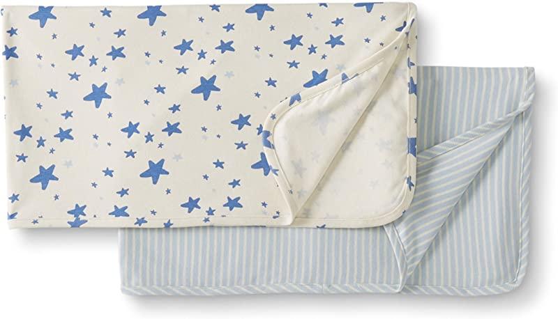 Moon And Back By Hanna Andersson Baby 2 Pack Organic Cotton Blanket