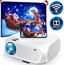 Wireless WiFi Movie Projector 3600 Lumens, DIWUER Mini Video Projector, 1080P Supported, 176
