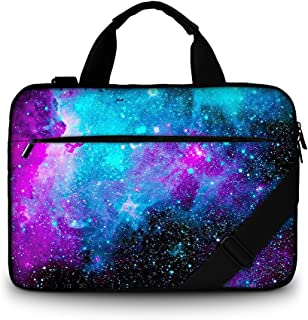 13-13.3 Inch Laptop Shoulder Bag, ToLuLu Protective Notebook Messenger Briefcase Compatible with 11/11.6/12/12.9/13 Inch L...