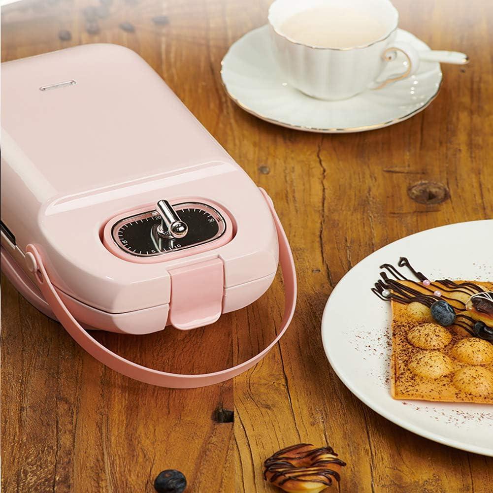 YXMG Sandwich gaufrier Toastie Toasters Panini Gaufrier Grill Plaques Easy Clean revêtement Anti-adhésif Plaques antidérapantes Boîtier en Plastique,F D
