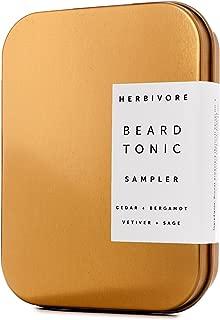 Herbivore - Natural Beard Tonic Sampler