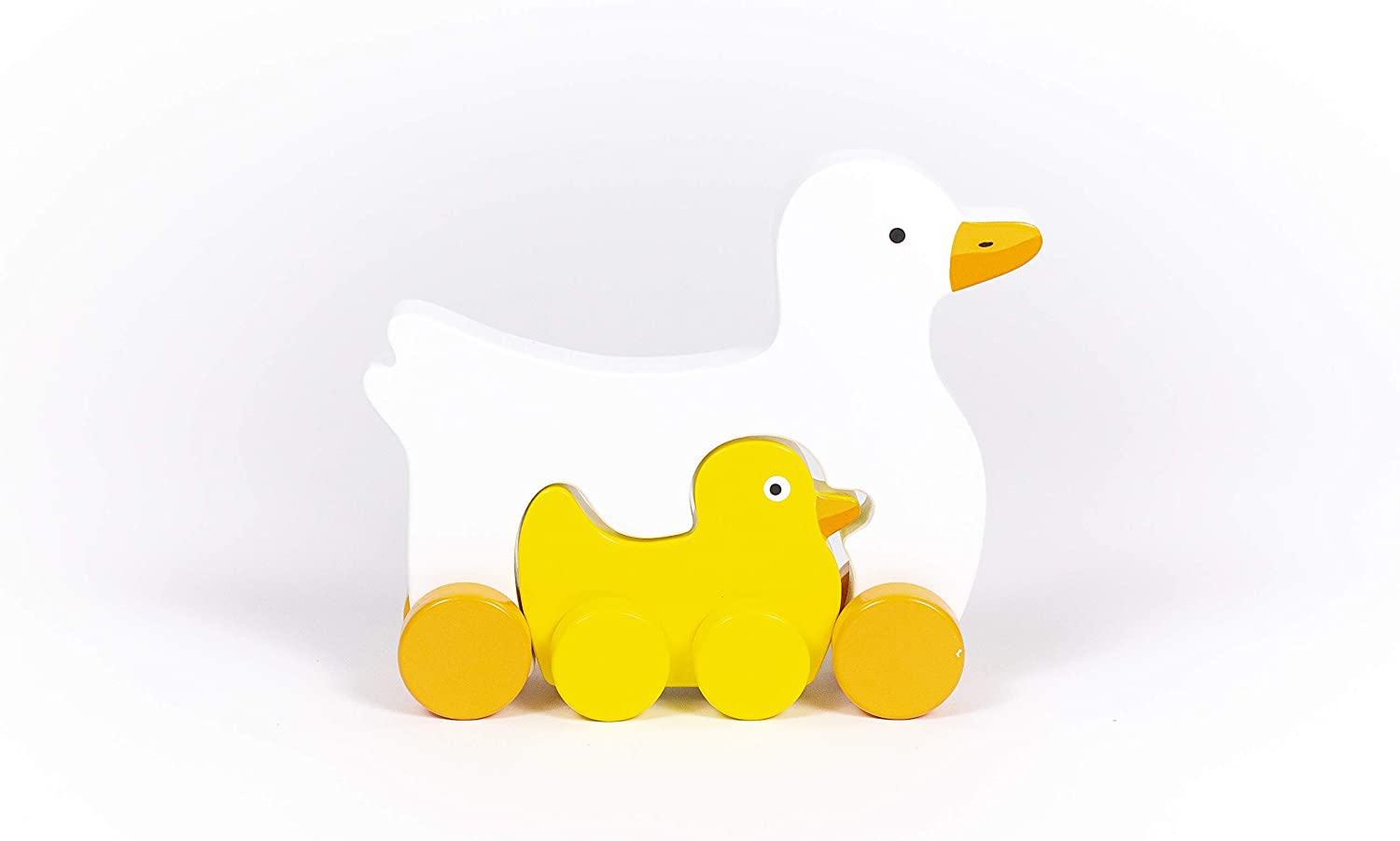 Jack Rabbit Creations, Inc. Mommy & Baby Duck Rolling Toy