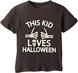 Super Soft Cotton This Kid Loves Halloween Short Sleeve Tee (Toddler/Little Kids)