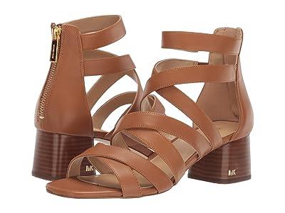 MICHAEL Michael Kors Dixon Single Sole Sandal (Acorn) Women