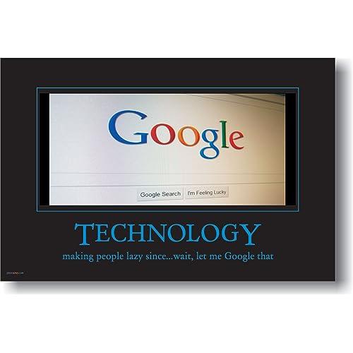 Technology Posters: Amazon com