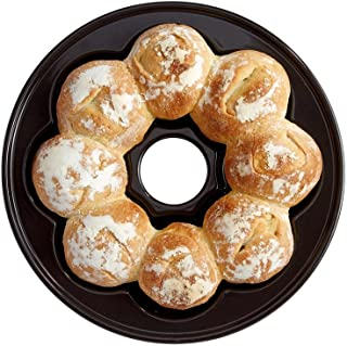 Emile Henry Crown Bread Baker, 15.4 x 9.4 x 4, Charcoal