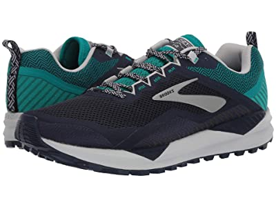 Brooks Cascadia 14 (Navy/Blue Grass/Grey) Men