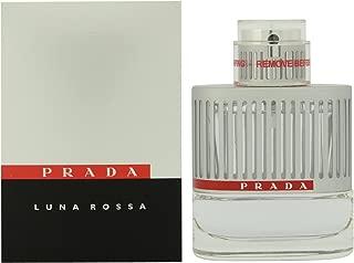 Prada Luna Rossa Eau de Toilette Spray for Men, 1.7 Ounce