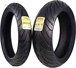 Pirelli Angel ST Front & Rear Street Sport Touring Motorcycle Tires (1x Front 120/70ZR17 1x Rear 190/50ZR17)