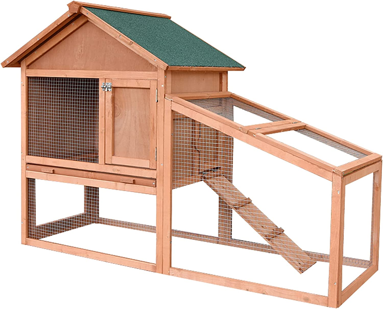 Outdoor Wooden shop Rabbit cage Large At the price of surprise Chicken House c Garden