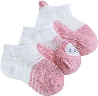 Ultrafinas Calcetines de Verano para Bebé Niños Niñas Sox Transpirables Calcetines Algodón 0-5 años
