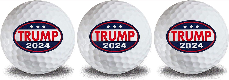 Donald Trump 2024 All items Latest item free shipping Golf 3pk Ball #2