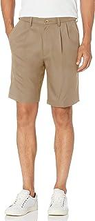 سروال رجالي رائع 18 برو مطوي في الأمام في 4 اتجاهات وخصر قابل للتمدد بمقاس عادي وكبير وطويل