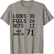 Funny 71st Birthday Gift T-Shirt 71 Years Old Born In 1948