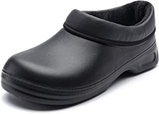 LINGMAO Chef Nurse Shoes for Kitchen Garden Men Women Slip Resistant Clogs Slip on