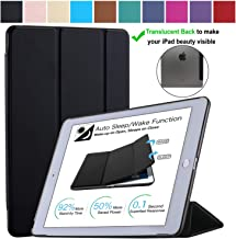 DuraSafe Cases for iPad Mini 4-7.9 Inch 2015 [ A1538 A1550 ] Smart Cover - Black (UltraSlim)