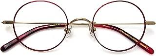 Komehachi - Women Slim Ultra-Light Round Clear Lens RX Ready Eyeglasses Frames