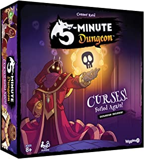 5 Minute Dungeon: Curses Foiled Again Expansion - in Upgraded Box