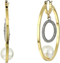 Gold/Rhodium/Crystal/Ivory Pearl