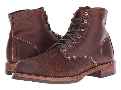 Wolverine Heritage 1000 Mile 6 Evans Boot (Dark Brown Leather/Suede) Men