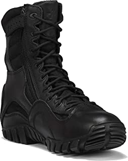 TACTICAL RESEARCH TR Men's Khyber TR960Z WP Lightweight Waterproof Side-Zip Tactical Boot