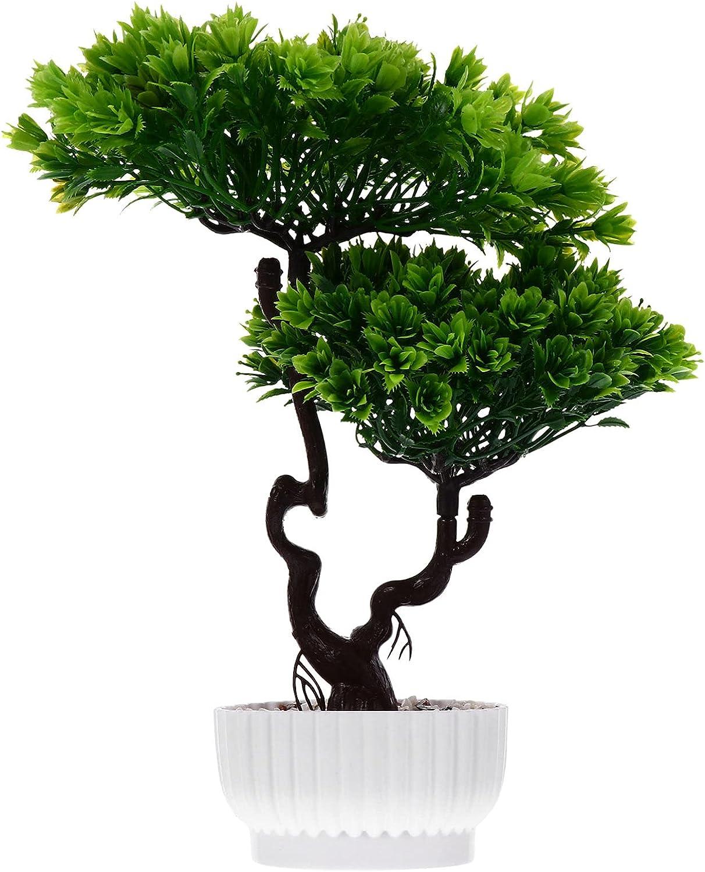 Cabilock Artificial Bonsai Tree Fake Plant Cheap super special price Japanese Pine Genuine Free Shipping