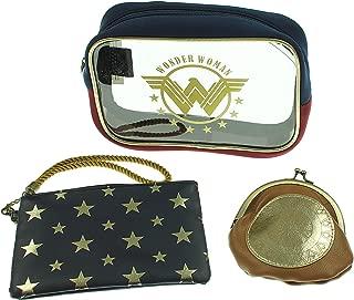 DC Comics Wonder Woman Juniors Cosmetic MakeUp Bag