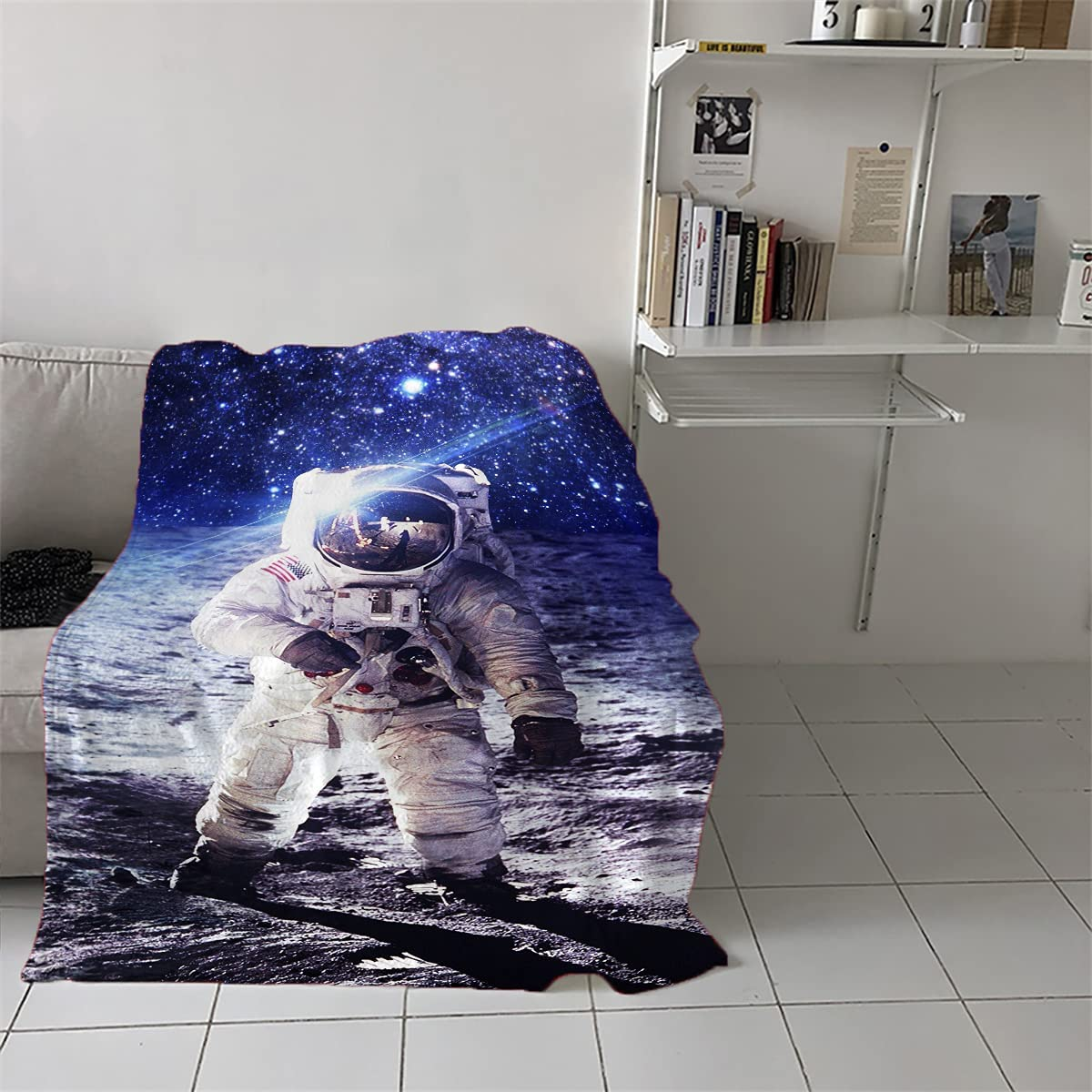Beach Max Factory outlet 82% OFF Blanket Sandproof Waterproof NASA Astronauts On American T