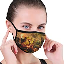 JoyceMHunter Buckethead Monsters and Robots Reusable,dust Mask,Safety Mask,Windproof Warm Mask,Mouth Mask
