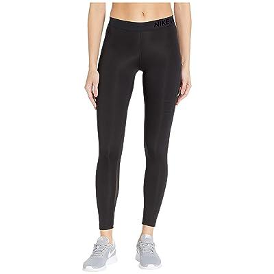 Nike Pro Warm Mesh Veneer Tights (Black/Black) Women