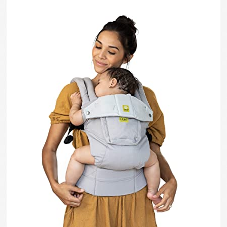 LÍLLÉbaby Complete Original 6-in-1 Ergonomic Baby Child Carrier with Lumbar Support, Stone