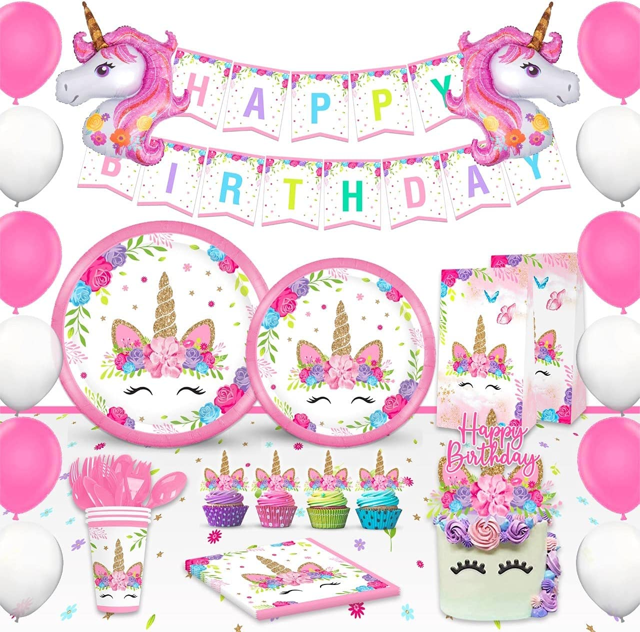 trend rank Ranking TOP16 Trending Unicorn Birthday Decorations for - Girls Party