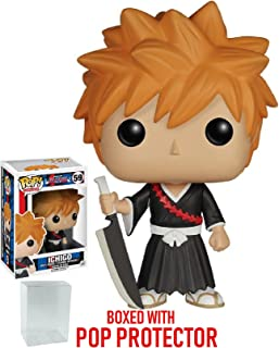 Funko Pop! Anime: Bleach - Ichigo Vinyl Figure (Bundled with Pop Box Protector Case)