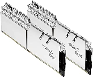 G.Skill Trident Z Royal F4-3200C16D-16GTRS módulo de - Memoria (16 GB, 2 x 8 GB, DDR4, 3200 MHz, 288-pin DIMM)