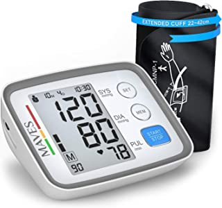 [Upgraded 2020] Blood Pressure Monitor -Automatic Digital Upper Arm BP Cuff -Fast