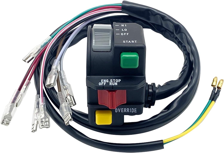 Left Handlebar Start Stop Override Headlight [Alternative dealer] Polaris Surprise price for Switch
